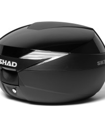 Kit Maleta SH39 con tapa de color negro brillo