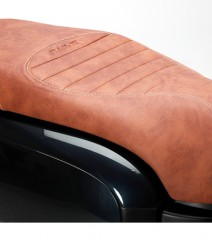 Funda asiento FIDDLE III 125 CAFE CLARO BICOLOR