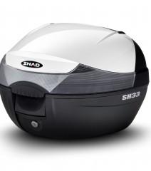Kit Maleta SH33 MIO 115i Tapa color BLANCO